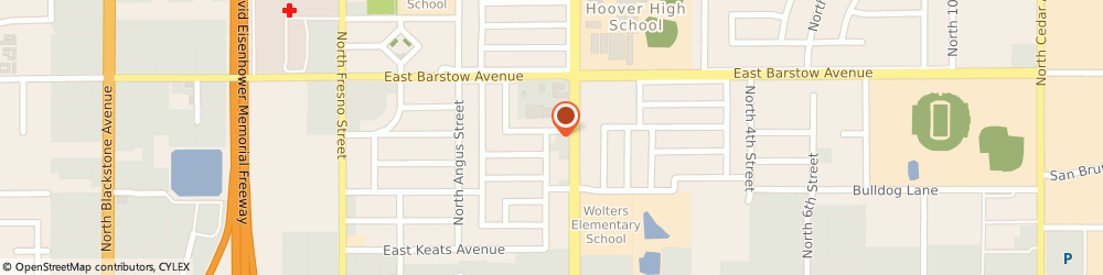 Route/map/directions to Persian Christian Church, 93710 Fresno, 5290 NORTH SHERMAN AVENUE