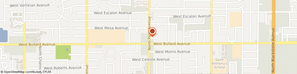 Route/map/directions to Safeco Insurance Agent, 93704-1623 Fresno, 6055 N Palm Ave