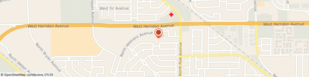 Route/map/directions to Atm Great Western Bank, 93722 Fresno, 2450 N Brawley Ave Ste 101