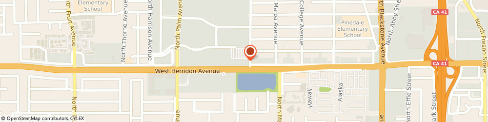 Route/map/directions to McDonald's, 93650 Fresno, 7025 N Ingram Ave
