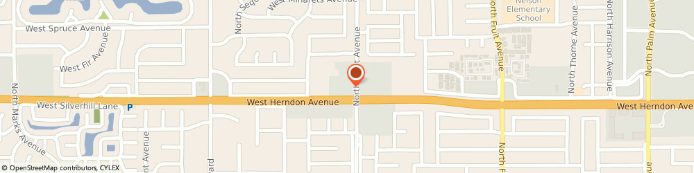 Route/map/directions to Atm Great Western Bank, 93711 Fresno, 7015 N West Ave