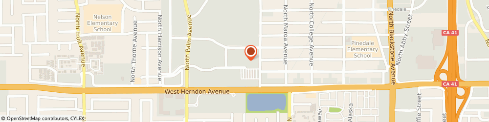 Route/map/directions to Atm Great Western Bank, 93650 Fresno, 7065 N Ingram Ave