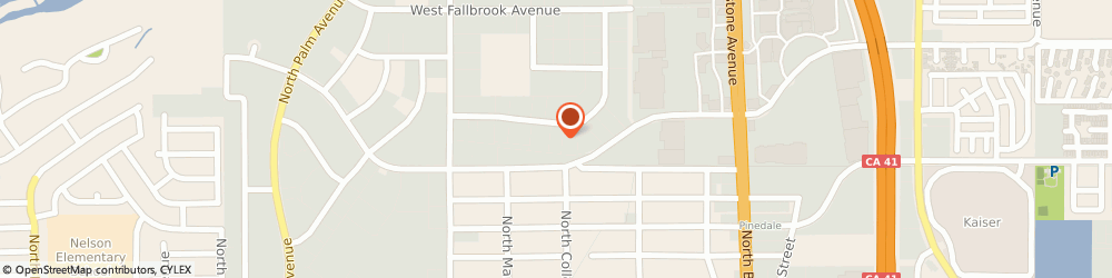Route/map/directions to Horizon Distributors Inc., 93711 Fresno, 349 W Bedford Ave