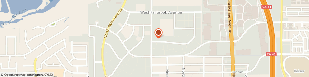 Route/map/directions to Ewing Irrigation Products, 93711 Fresno, 7530 N. Ingram Ave.