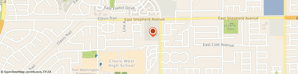 Route/map/directions to PostalAnnex+, 93720 Fresno, 8839 N Cedar Ave