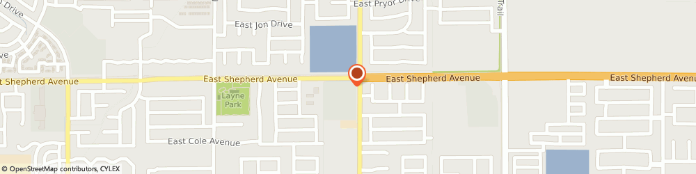 Route/map/directions to Atm Great Western Bank, 93720 Fresno, 8975 N Chestnut Ave
