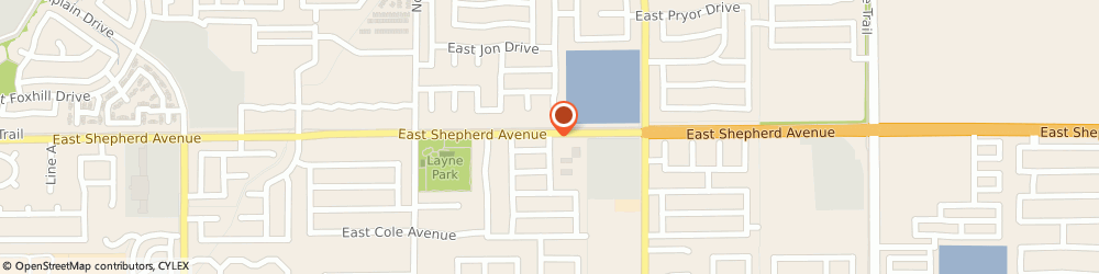 Route/map/directions to Northpark Community Church, 93720 Fresno, 2297 EAST SHEPHERD AVENUE