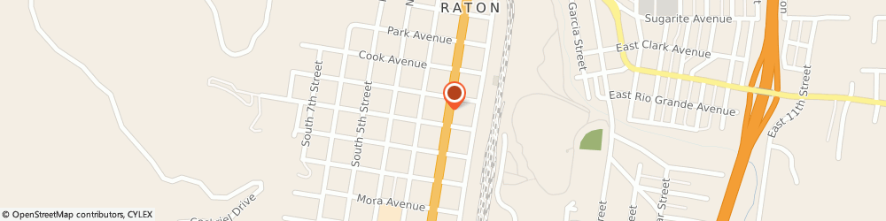 Route/map/directions to Carquest Auto Parts - Raton American Auto Parts, 87740 Raton, 326 S 2nd St