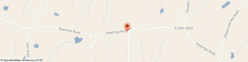 Route/map/directions to State Farm Insurance, 23876 Rawlings, 2642 RAWLINGS RD