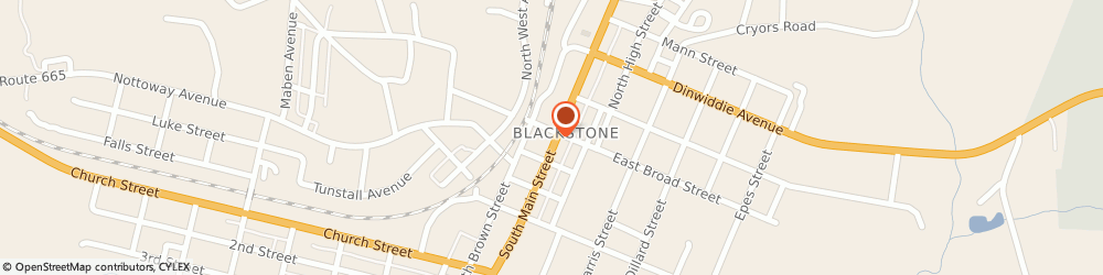 Route/map/directions to Skip Williams - State Farm Insurance Agent, 23824 Blackstone, 106 South Main Street