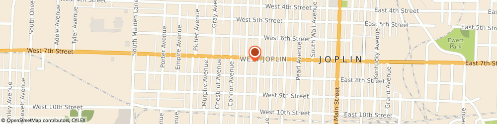 Route/map/directions to Metro by T-Mobile, 64801-2905 Joplin, 722 W 7th St