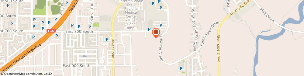 Route/map/directions to STD Testing Services SAINT GEORGE, 84790 Saint George, 1490 E Foremaster Dr Ste 230