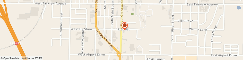 Route/map/directions to Navy Federal Credit Union, 64836 Carthage, 2208 Grand Avenue