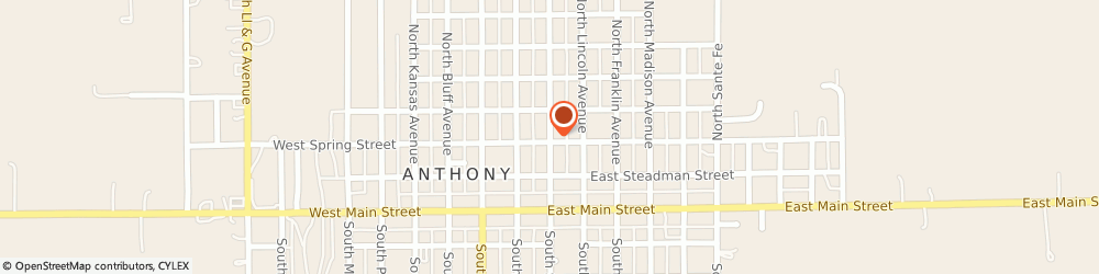 Route/map/directions to The American Legion Lewis F. Tuttle, 67003 Anthony, 314 N Springfield Ave