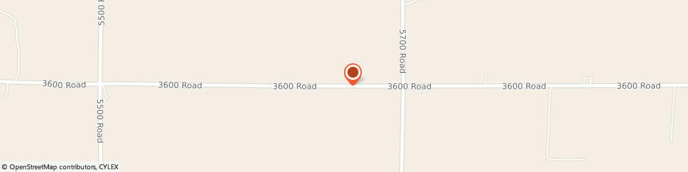 Route/map/directions to Falcon Roofing LLC, 67357 Parsons, 3931 Cr 3600