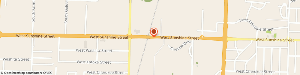 Route/map/directions to Springfield Pest Control, 65807 Springfield, 1723 W Sunshine St
