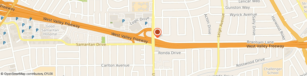 Route/map/directions to Homeport Apartments, 95124 San Jose, 5030 Union Avenue