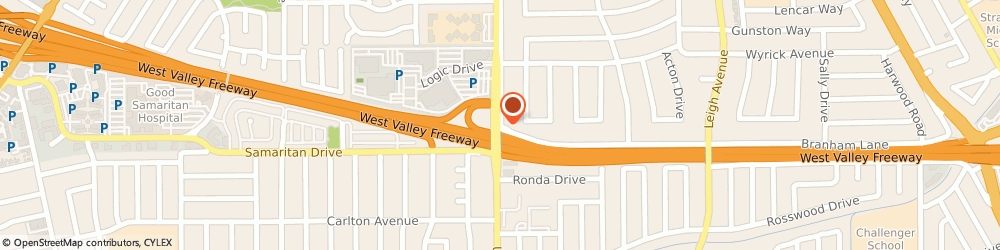 Route/map/directions to Richard G.Matusich and Associates Realtors Inc., 95124 San Jose, 2940 Union Ave #B