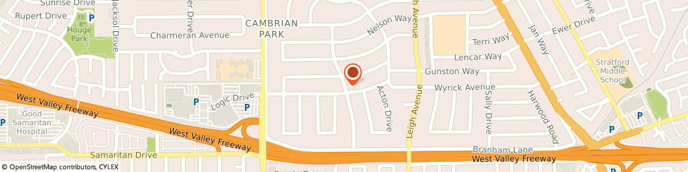 Route/map/directions to Grandviw View Construction, 48658 Standish, 426 San Jose