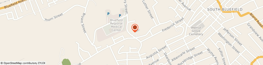Route/map/directions to Brandon Disney - State Farm Insurance Agent, 24701 Bluefield, 513 Cherry Street