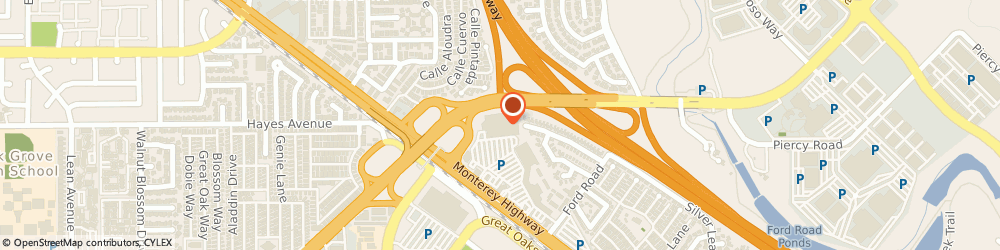 Route/map/directions to Mcdonald's, 95138 San Jose, 5502 MONTEREY RD