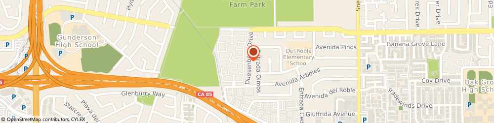 Route/map/directions to Doula Meg, 95123 San Jose, 415 Colony Knoll Drive