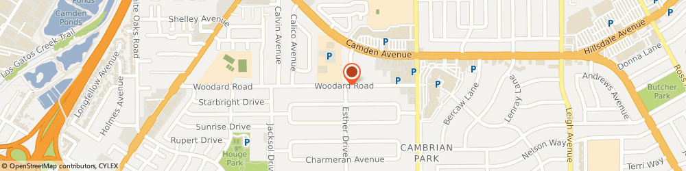 Route/map/directions to CM Property Management Inc., 95124 San Jose, 2034 Woodard Road