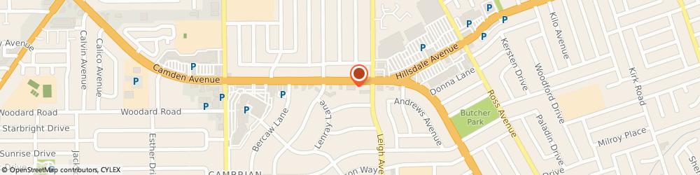 Route/map/directions to California Corporate Housing, 95124 San Jose, 1900 Camden Ave