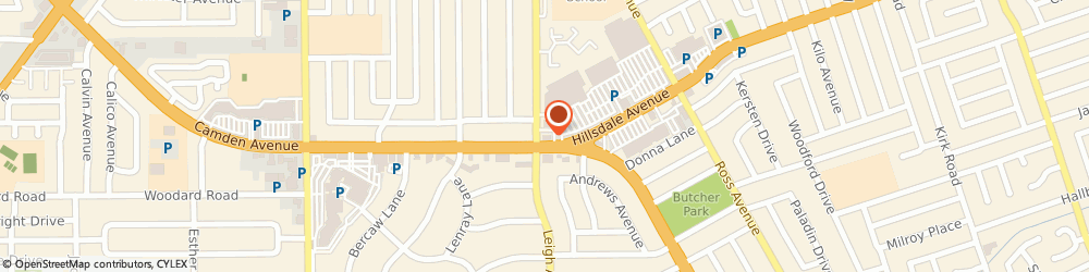 Route/map/directions to McDonald's, 95124 San Jose, 1869 Camden Ave