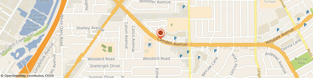 Route/map/directions to SIVA Property Management, 95124 San Jose, 5330 Camden Avenue