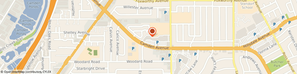 Route/map/directions to Cvs Pharmacy, 95124 San Jose, 2069 CAMDEN AVENUE