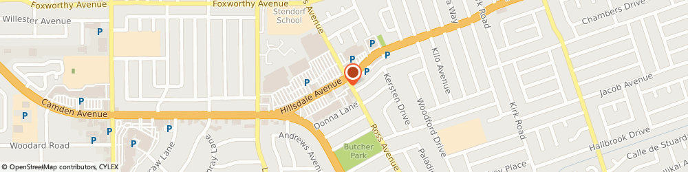 Route/map/directions to a b C Unocal 76, 95124 San Jose, 1810 Hillsdale Ave