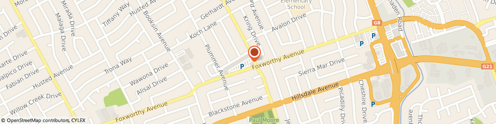 Route/map/directions to Cvs Pharmacy, 95118 San Jose, 1405 FOXWORTHY AVENUE