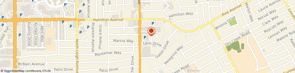 Route/map/directions to Leonora Cruz, 95125 San Jose, 1712 Meridian Ave