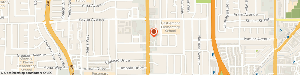 Route/map/directions to Central China Restaurant, 95128 San Jose, 1362 SOUTH WINCHESTER BOULEVARD