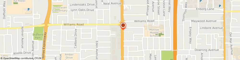 Route/map/directions to Niko Japanese Restaurant, 95128 San Jose, 1035 SOUTH WINCHESTER BOULEVARD