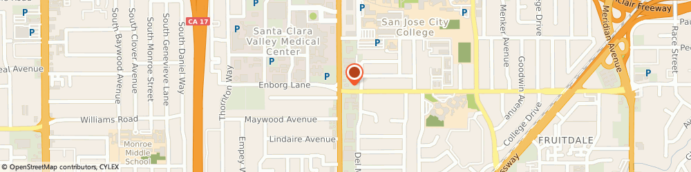 Route/map/directions to McDonald's, 95128 San Jose, 898 S Bascom Ave