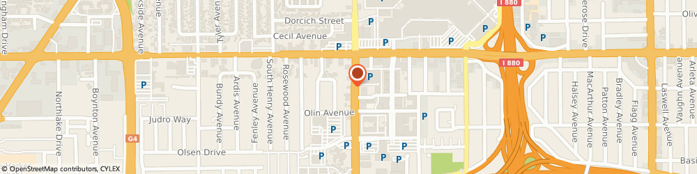 Route/map/directions to Burger King, 95128 San Jose, 369 SOUTH WINCHESTER BOULEVARD