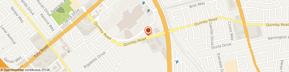 Route/map/directions to Citibank, 95122 San Jose, 2189 Quimby Rd
