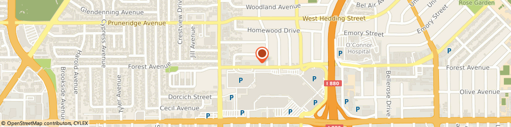 Route/map/directions to STD Testing Services SAN JOSE, 95128 San Jose, 2419 Forest Ave