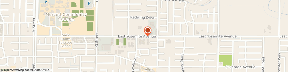 Route/map/directions to Our Lady Of Mercy-St Patricks Parish - St Patricks, 95340 Merced, 673 EAST YOSEMITE AVENUE