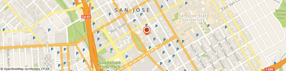 Route/map/directions to Morton's The Steakhouse, 95113 San Jose, 170 South Market Street