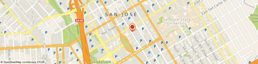 Route/map/directions to Sam Maples - Private Client Advisor, 95113 San Jose, 50 West Fernando Street