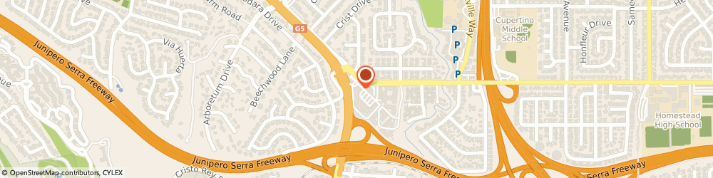 Route/map/directions to Curves For Women, 94024 Los Altos, 2310 HOMESTEAD ROAD, STE. F-1