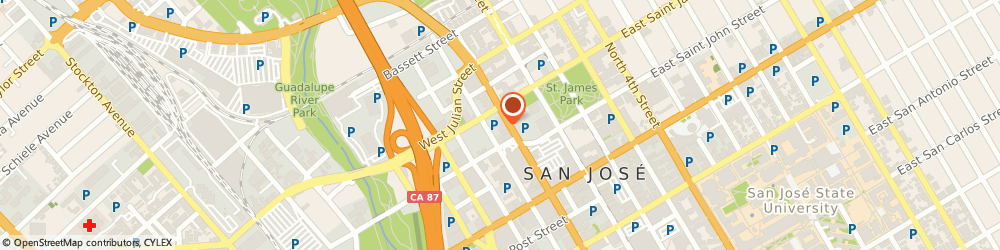 Route/map/directions to Colliers International REMS, 95113 San Jose, 111 N Market Street