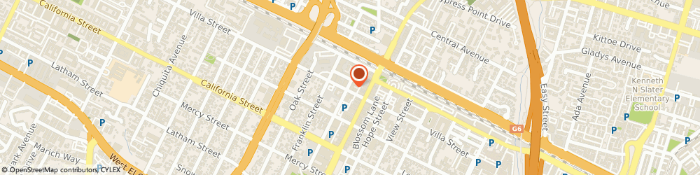 Route/map/directions to Silicon Thermal, Inc., 94041 Mountain View, 888-T VILLA ST.,