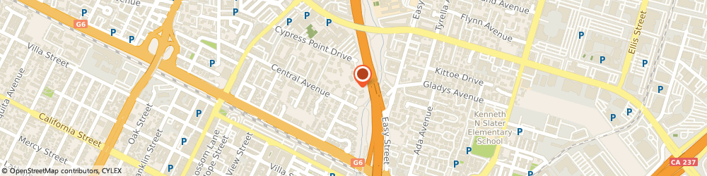 Route/map/directions to Expetec Of Mountain View, 94043 Mountain View, 206 CENTRAL AVENUE