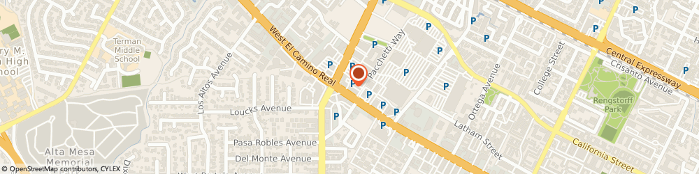 Route/map/directions to Sajj FalaFel & Shawarma, 94040 Mountain View, 2580 W El Camino Real