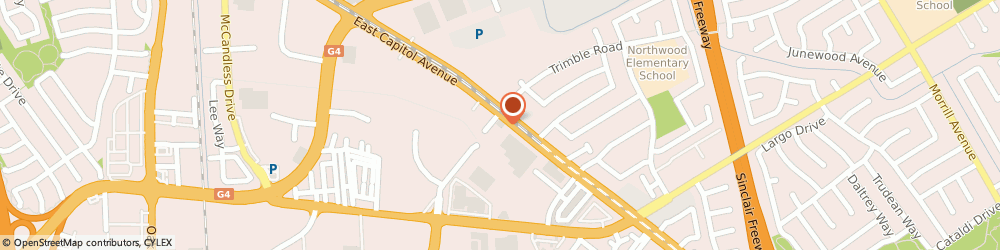 Route/map/directions to Transworld Driving School, 95132 San Jose, 2095 NORTH CAPITOL AVENUE