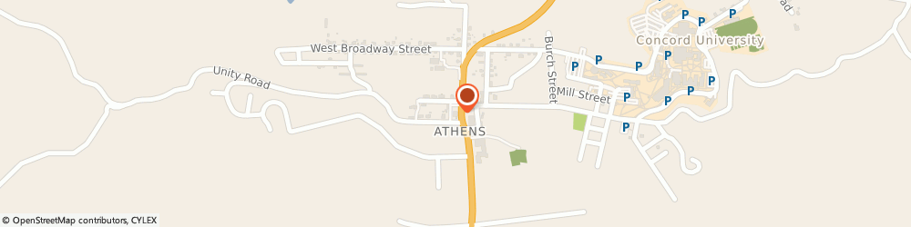Route/map/directions to BB&T, 24712 Athens, 202 State Street
